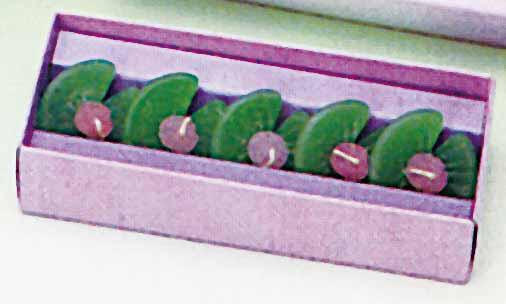 【水に浮かぶ安全ろうそく】 水蓮華 紙箱入 5個入り 50箱セット