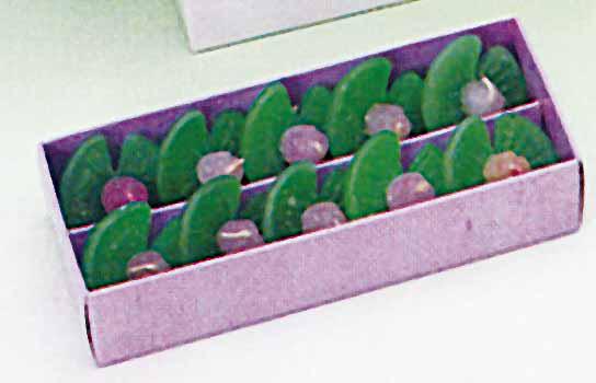【水に浮かぶ安全ろうそく】 水蓮華 紙箱入 10個入り 50箱セット