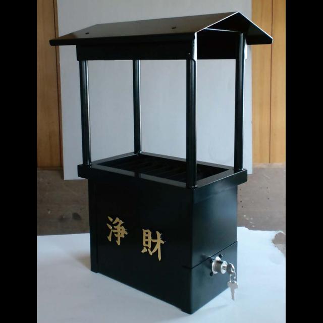 【おみくじ お賽銭】 鋳物賽銭箱 屋内外兼用