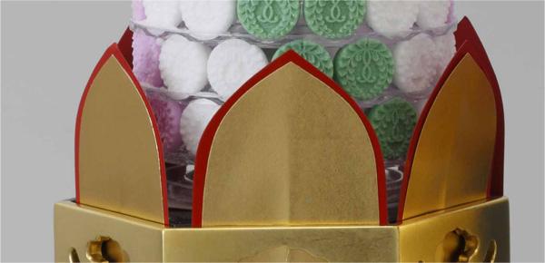 【寺院用】お華束台座(供花)用 紙法立 12枚セット