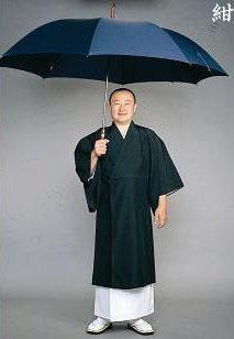 【雨傘 大型】大判雨傘 傘丈80cm(ジャンプ式)
