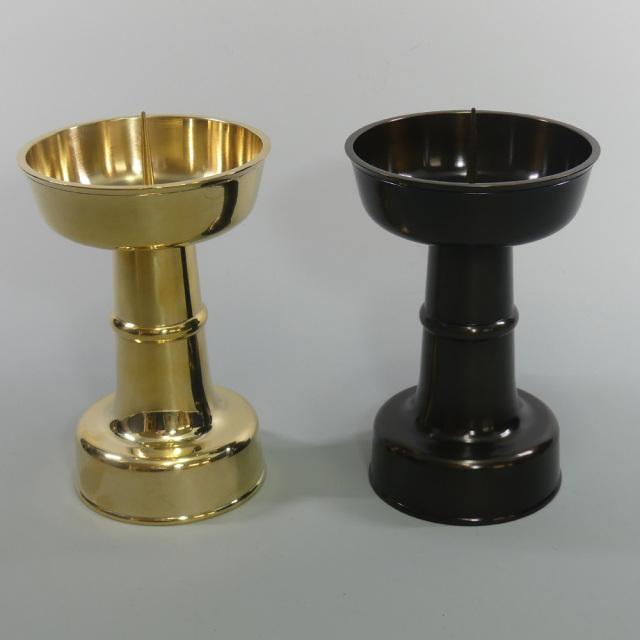 燭台 清浄型 【寺院用 神社用 仏具】