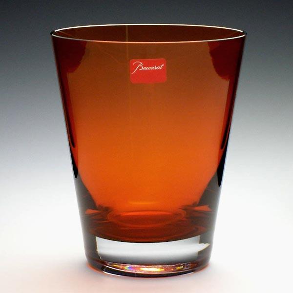バカラ  Baccaratモザイク オールドファッション オレンジ 2101-682高さ11.5cm