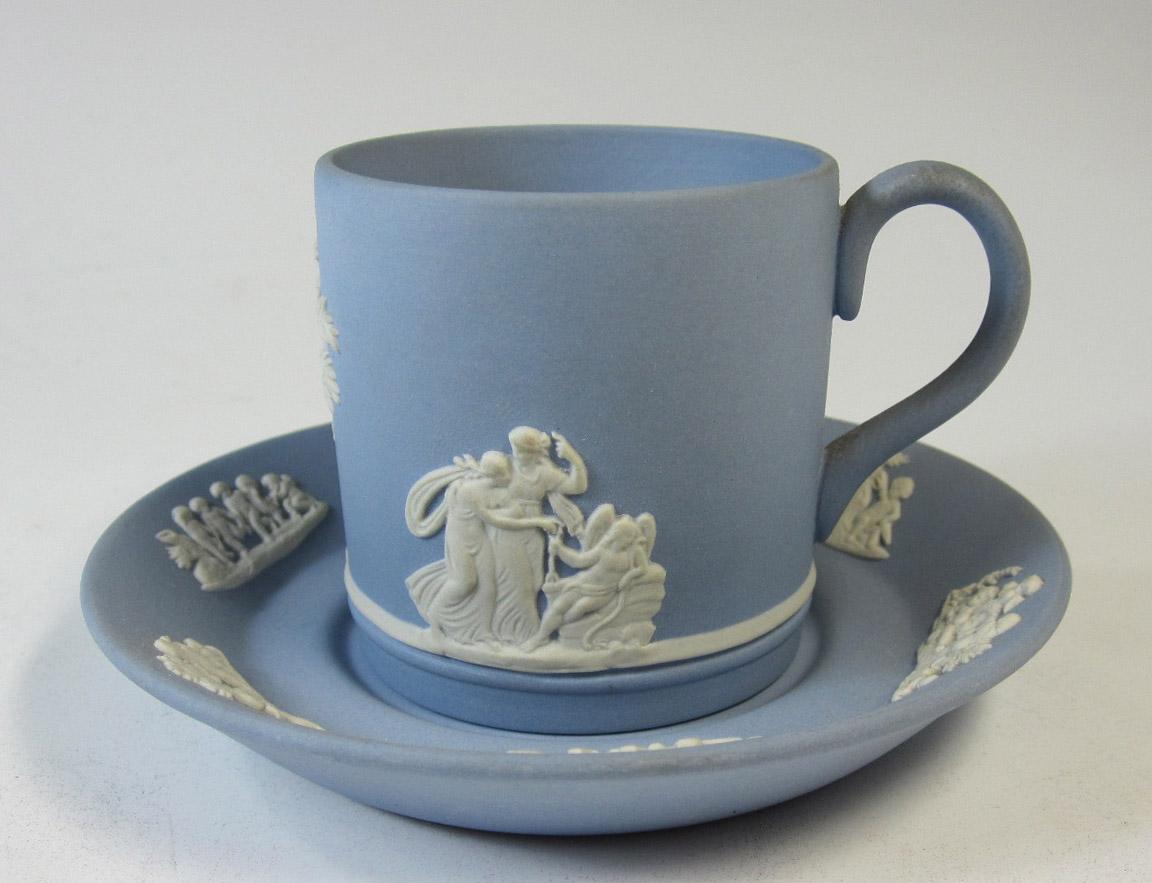 ウェッジウッド Wedgwood ジャスパー コーヒー カップ&ソーサー 【ウェッジウッド廃盤品/個数限定】