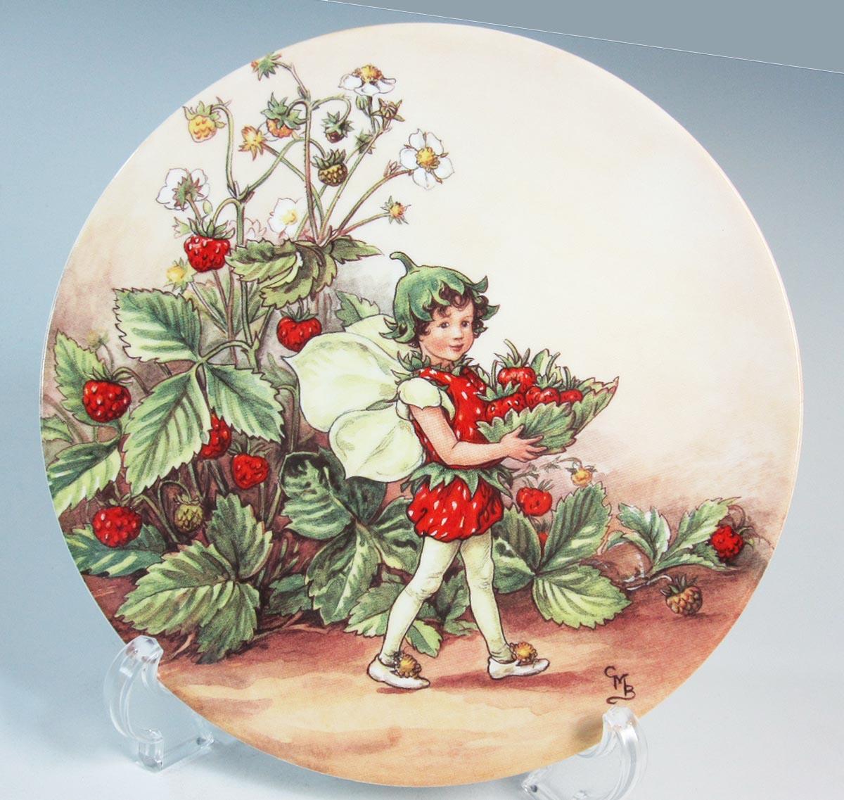 ウェッジウッド Wedgwood フラワーフェアリーコレクション Flower Fairies/花の妖精 ストロベリー 【廃盤品/個数限定】