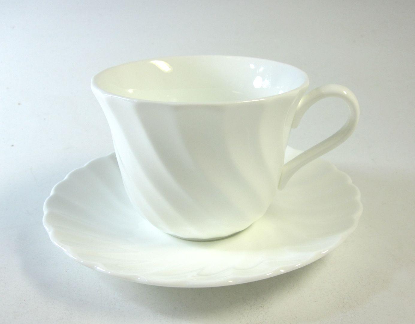 ウェッジウッド Wedgwood  キャンドルライト ティーカップ&ソーサー【ウェッジウッド廃盤品/個数限定】