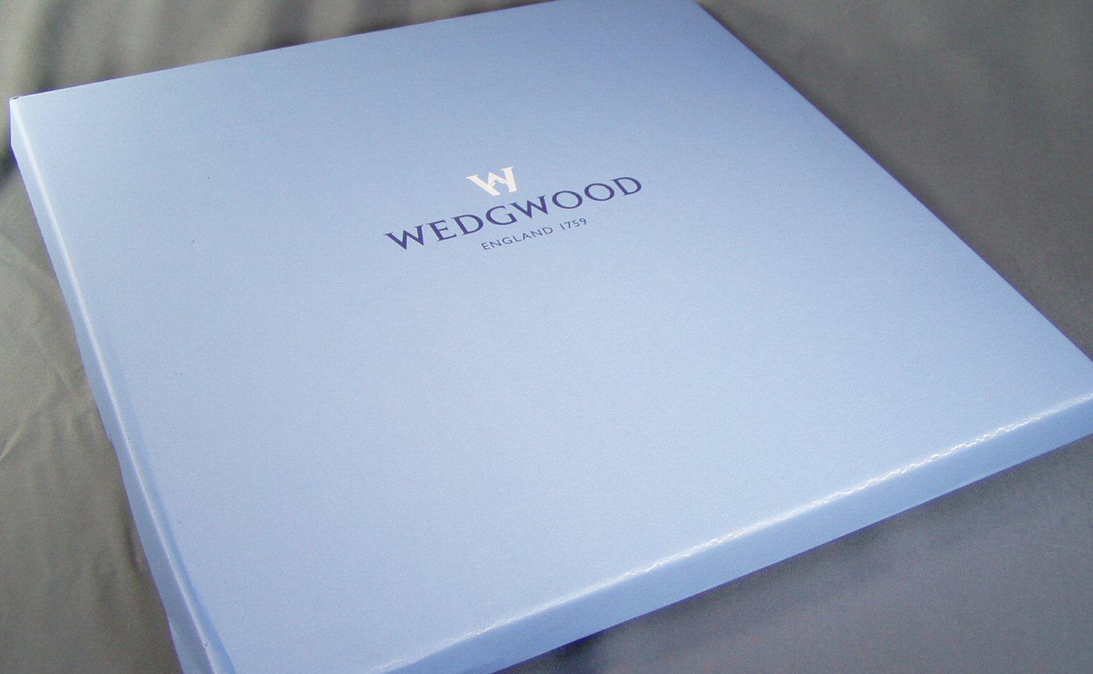 ウエッジウッド ブランドボックス 27cmプレート用箱