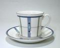 ウェッジウッド Wedgwood クアドランツ コーヒーカップ&ソーサー