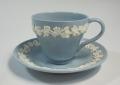 ウェッジウッドWedgwood  エンボスドクイーンズウェア コーヒーカップ&ソーサー デミタス【ウェッジウッド廃盤品/個数限定】