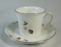 ウェッジウッド Wedgwood ワイルドストロベリー パステル コーヒー カップ&ソーサー ブルー