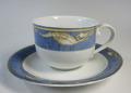 ロイヤルコペンハーゲン Royal Copenhagen  マグノリアブルー コーヒーカップ&ソーサー【ロイヤルコペンハーゲン廃盤品/新品】