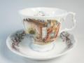 ロイヤルドルトン Royal Doulton ブランブリーヘッジ ティーカップ&ソーサー  ウィンター 【ロイヤルドルトン廃盤品/個数限定】