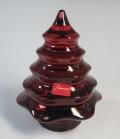 バカラ Baccarat クリスマスツリー ルビー 2600-673 【バカラ廃盤品/新品】