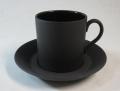 ウェッジウッド Wedgwood ブラックバサルト コーヒー カップ&ソーサー ボンド【ウェッジウッド廃盤品/個数限定】