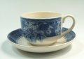 ウェッジウッドWedgwood ビンテージブルー(ヴィンテージブルー) ティーカップ&ソーサー 【ウェッジウッド廃盤品/個数限定】