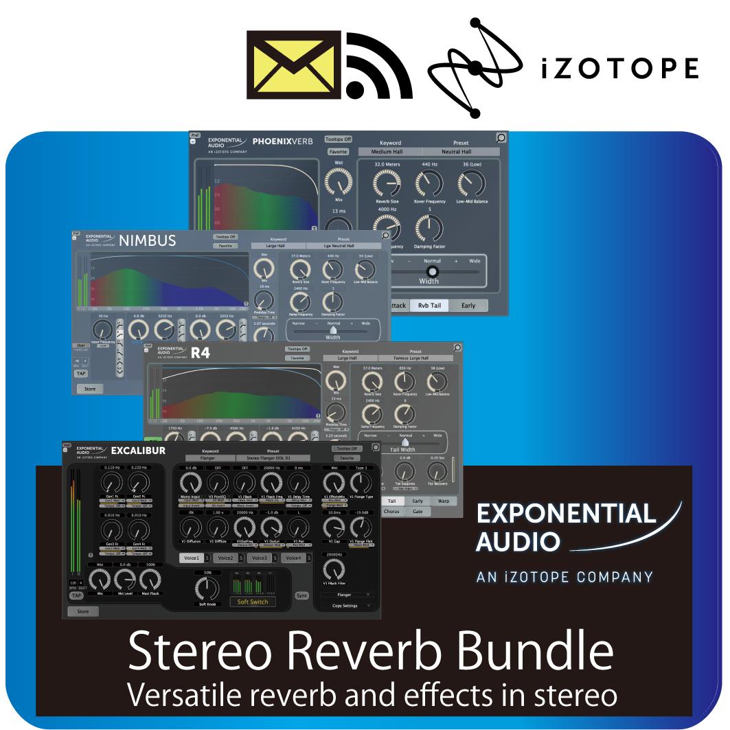 Stereo Reverb Bundle