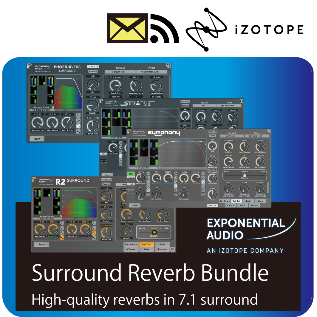 Surround Reverb Bundle