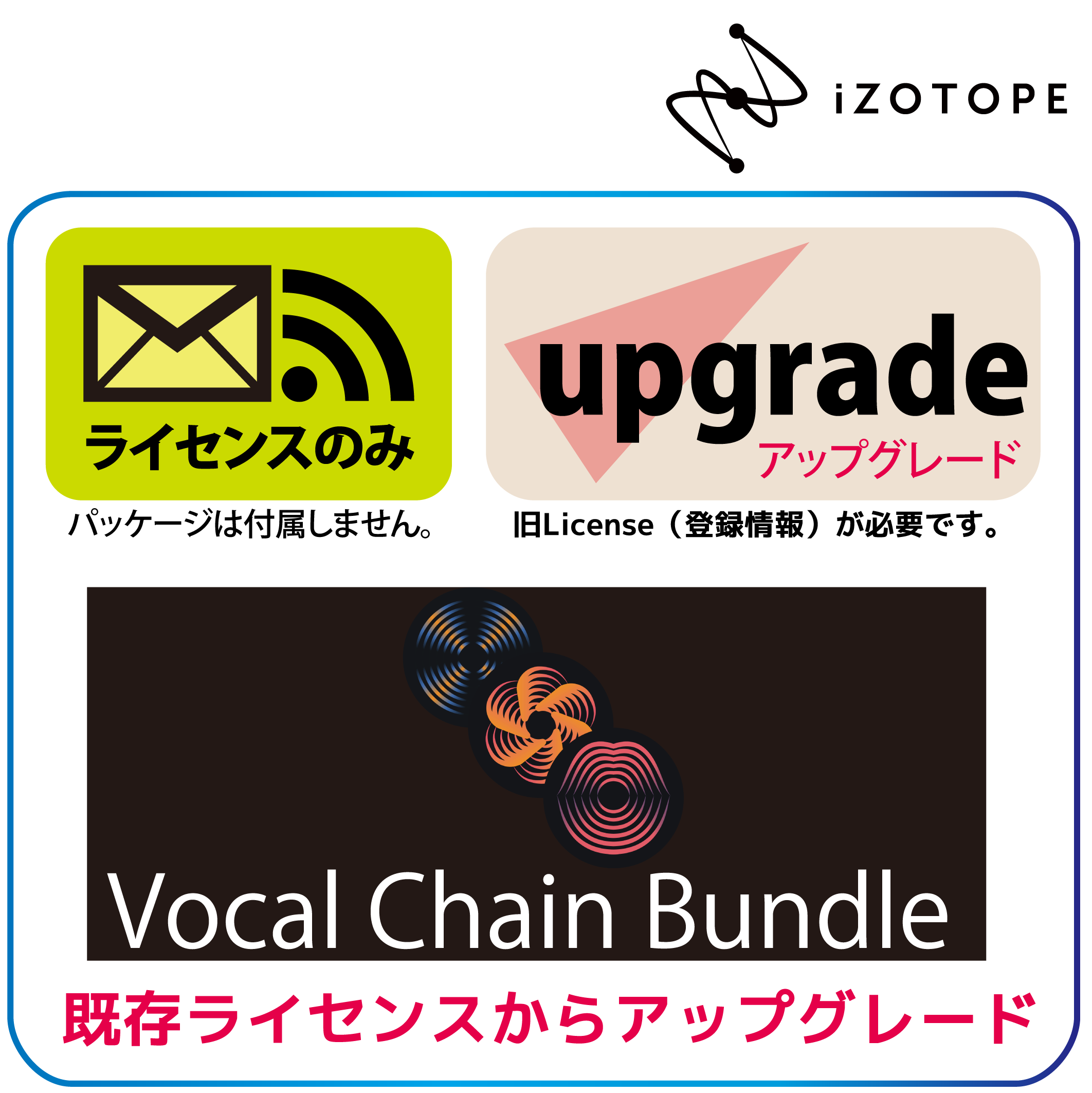 Any ADV or Nectar1/2  to Vocal Chain Bundle UPG