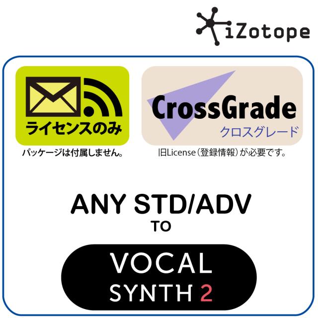 AnySTD/ADV to VocalSynth 2 CROSS