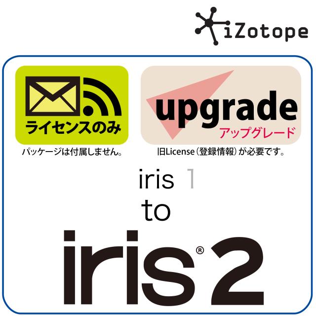 iris 1 to iris 2 UPG