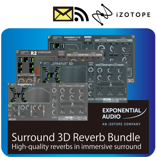 Surround 3D Reverb Bundle