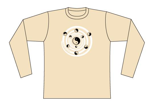 Taijilogo Tシャツ#008L (長袖)
