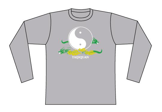 Taijilogo Tシャツ#201L (長袖)