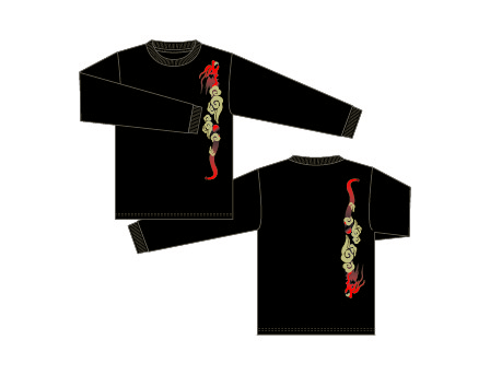 Taijilogo Tシャツ#204L(長袖:ベーシック)