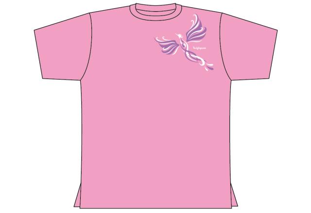 202S 「凰」 ハイグラ 丸首 ピンク