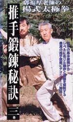 郭福厚老師の推手ビデオ3巻シリーズ 第3巻:『四隅手』(大将・散手) (VHS)