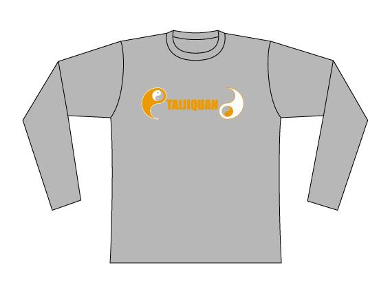 Taijilogo Tシャツ#003L (長袖)