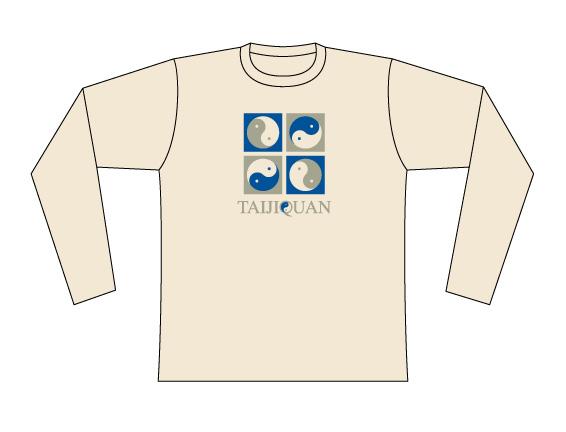 Taijilogo Tシャツ#005L (長袖)