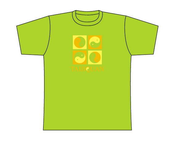 Taijilogo Tシャツ#005S (半袖:カラフル)