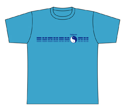 Taijilogo Tシャツ#006S (半袖:カラフル)