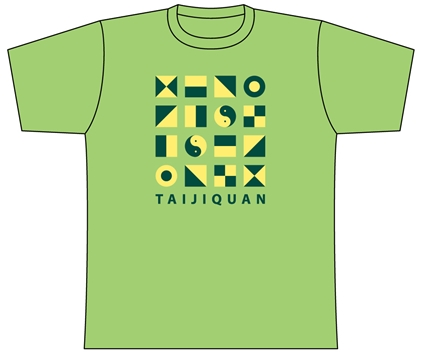 Taijilogo Tシャツ#009S (半袖:カラフル)