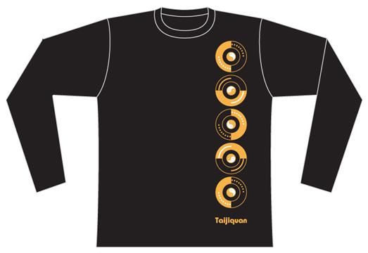 Taijilogo Tシャツ#010L (長袖:ベーシック)