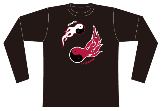 Taijilogo Tシャツ#012L(長袖:ベーシック)