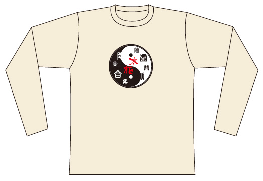 Taijilogo Tshirt-long sleeve #108L