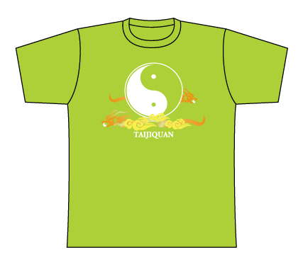 Taijilogo Tshirt-short sleeve #201S, Coloful