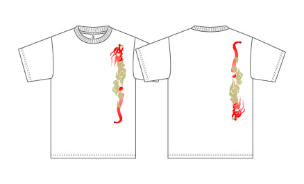Taijilogo Tシャツ#204S(半袖:ベーシック)
