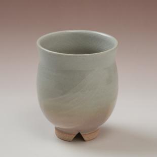 萩焼(伝統的工芸品)湯呑刷毛姫丸