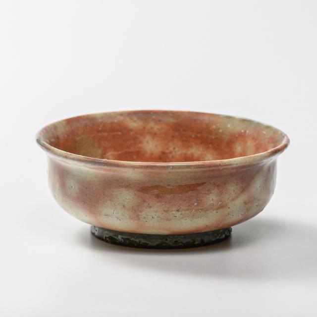 萩焼(伝統的工芸品)小鉢御本手端反