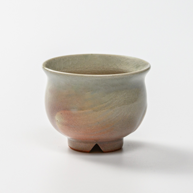 萩焼(伝統的工芸品)豆小鉢刷毛姫丸