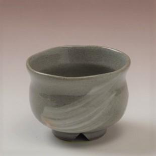 萩焼(伝統的工芸品)豆小鉢刷毛青丸