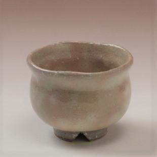 萩焼(伝統的工芸品)豆小鉢御本手丸