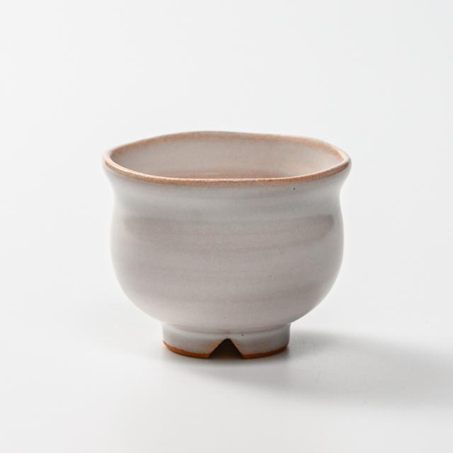 萩焼(伝統的工芸品)豆小鉢白姫丸