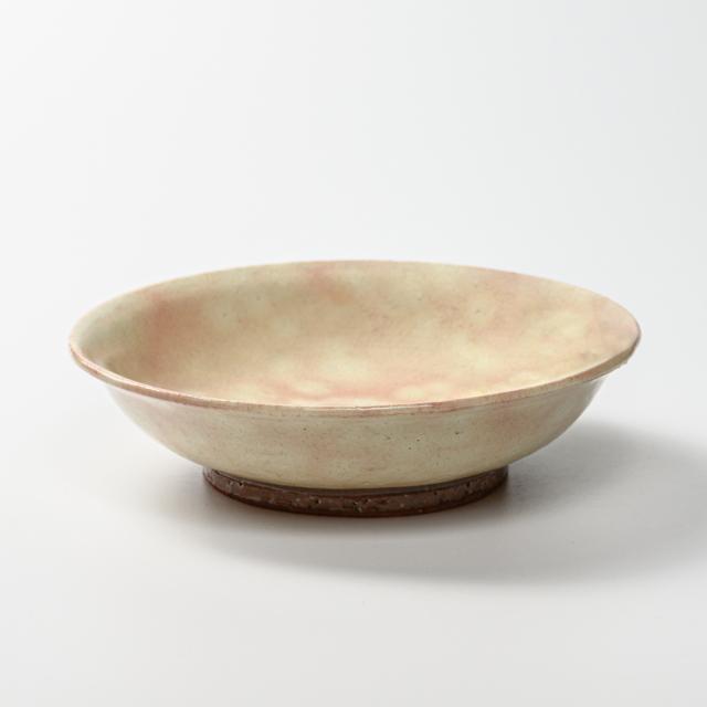 萩焼(伝統的工芸品)平鉢中御本手朝顔