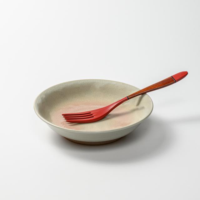 萩焼(伝統的工芸品)サラダボウル姫萩朝顔