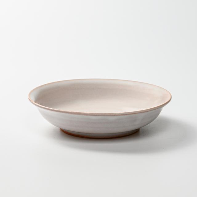 萩焼(伝統的工芸品)サラダボウル白姫朝顔