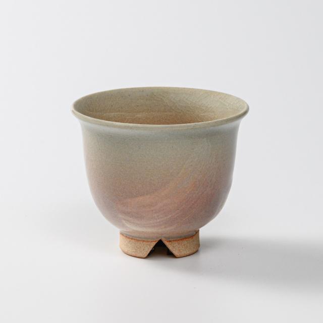 萩焼(伝統的工芸品)汲出し湯呑小刷毛姫朝顔